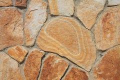 Fundo listrado do sandstone Imagens de Stock