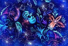 Fundo luminoso da flor ilustração stock