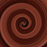 Fundo lustroso abstrato do redemoinho do chocolate Fotos de Stock Royalty Free