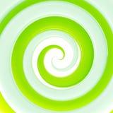 Fundo lustroso verde fresco colorido do twirl Imagens de Stock