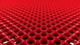 Fundo lustroso vermelho da grade ilustração do vetor