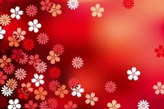 Fundo luxuoso abstrato da flor Imagem de Stock