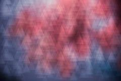 Fundo luxuoso cinzento do rosa abstrato do triângulo Foto de Stock