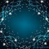 Fundo mágico brilhante Energia do movimento e da beleza Ilustração abstrata em cores brilhantes Fotografia de Stock Royalty Free