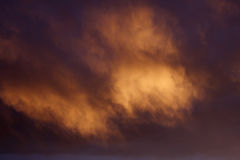Fundo mágico da nuvem Foto de Stock Royalty Free