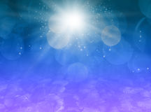 Fundo mágico da poeira de estrela