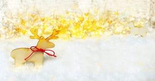 Fundo mágico do Natal Fotos de Stock