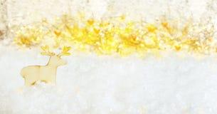 Fundo mágico do Natal Imagem de Stock Royalty Free