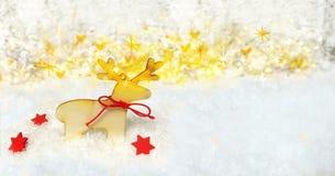 Fundo mágico do Natal Imagens de Stock