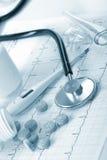 Fundo médico Imagem de Stock Royalty Free