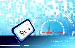 Fundo médico Foto de Stock Royalty Free