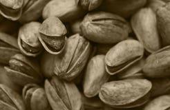 Fundo múltiplo dos pistachios Imagens de Stock Royalty Free