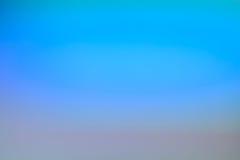 Fundo macio azul abstrato com destaques do inclinação Fotos de Stock