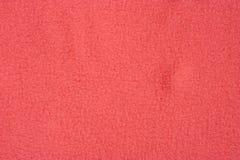 fundo macio vermelho de matéria têxtil Fotos de Stock