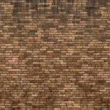 Fundo manchado resistido velho da parede de tijolo vermelho Fotos de Stock Royalty Free