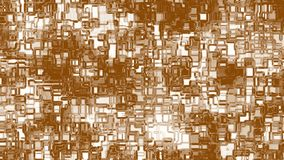 Fundo marrom animado abstrato video estoque