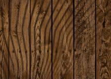 Fundo marrom de madeira Foto de Stock Royalty Free