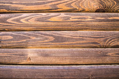 Fundo marrom de madeira Imagens de Stock Royalty Free