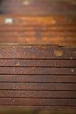 Fundo marrom de madeira velho da textura imagem de stock