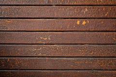 Fundo marrom de madeira velho da textura foto de stock