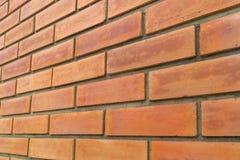 Fundo marrom vermelho velho do grunge da textura da parede de tijolo Fotos de Stock