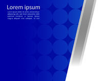 Fundo material geométrico abstrato azul e branco do projeto, Fotos de Stock