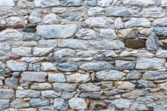 Fundo medieval da parede de pedra foto de stock