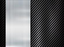 Fundo metálico abstrato do molde do projeto da textura de kevlar do carbono do quadro ilustração royalty free