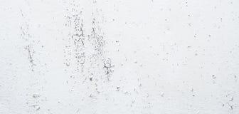 Fundo metálico do palato do esmalte branco velho Pl velho pintado branco fotos de stock