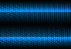 Fundo metálico listrado azul Imagem de Stock Royalty Free
