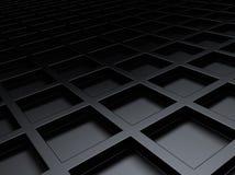 Fundo metálico com quadrados Imagem de Stock Royalty Free