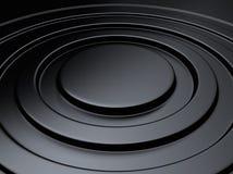 Círculo metálico elegante do fundo Foto de Stock