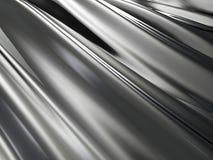 Fundo metálico preto elegante de Alluminium Foto de Stock