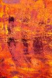 Fundo metálico Textura do metal Teste padrão abstrato Fundo do ferro Fotografia de Stock