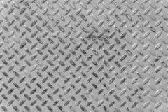 Fundo metálico Uma placa de aço com pontos como um fundo abstrato Fotos de Stock Royalty Free