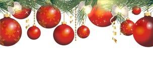 Fundo mágico do Natal Fotografia de Stock Royalty Free