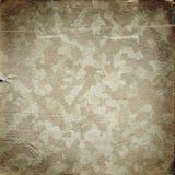 Fundo militar do Grunge com uma textura do papel Fotos de Stock Royalty Free