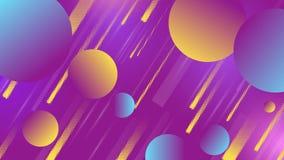 Fundo minimalictic do vetor geométrico colorido ilustração do vetor