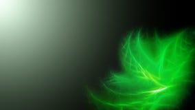 Fundo minimalistic abstrato com substância verde Ilustração do Vetor