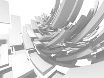 Fundo minimalistic do modelo geométrico abstrato moderno Foto de Stock Royalty Free