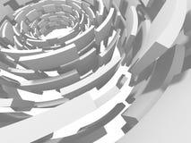 Fundo minimalistic do modelo geométrico abstrato moderno Fotografia de Stock Royalty Free