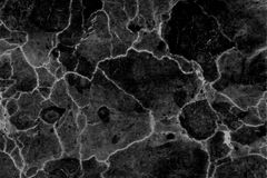 Fundo modelado preto e branco de mármore natural abstrato da textura para o projeto do papel de parede dos interiores imagens de stock
