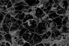 Fundo modelado preto e branco de mármore natural abstrato da textura para o projeto do papel de parede dos interiores fotografia de stock