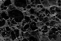 Fundo modelado preto e branco de mármore natural abstrato da textura para o projeto do papel de parede dos interiores fotos de stock royalty free