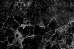 Fundo modelado preto e branco de mármore natural abstrato da textura para o projeto do papel de parede dos interiores fotografia de stock royalty free