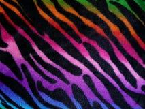 Fundo modelado zebra Imagens de Stock