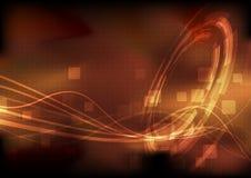 fundo modernistic da tecnologia energética da Olá!-tecnologia Fotografia de Stock