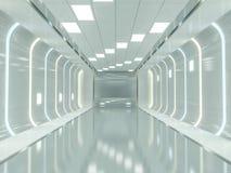 Fundo moderno abstrato da arquitetura rendição 3d Imagem de Stock