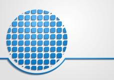 Fundo moderno brilhante da tecnologia ilustração stock