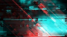 Fundo moderno da tecnologia, pulso aleatório digital do sumário do cyber imagens de stock